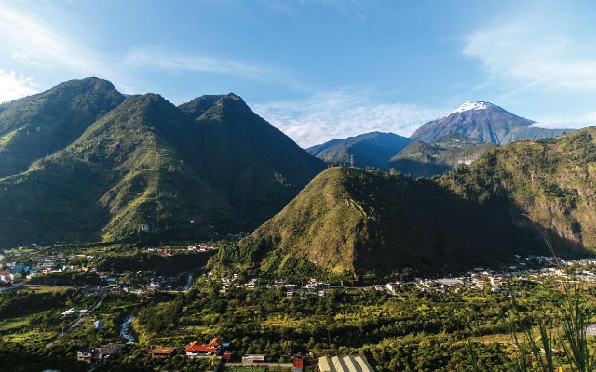 Como llegar a Baños de Agua Santa desde Quito, Guayaquil, Cuenca y Montañita