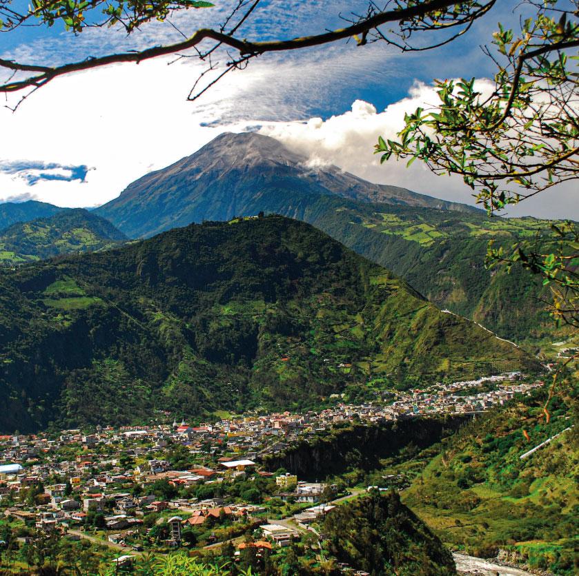 Centro Ecoturistico Alpinar en Baños de Agua Santa Ecuador